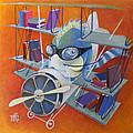 Librarian Pilot by Marina Gnetetsky