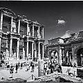Library Of Celsus - Ephesus by Stephen Stookey