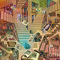 Library Of The Mind by Garry Walton