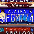 License Plate by Jeelan Clark