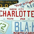 License Plates by Stacy C Bottoms