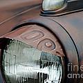 License Tag Eyebrow Headlight Cover  by Wilma  Birdwell