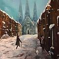 Lichfield Cathedral by Jean Walker