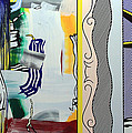 Lichtenstein's Painting With Statue Of Liberty by Cora Wandel