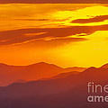 Lickstone Gap Sunset 5 by Maria  Struss
