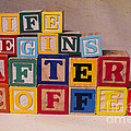 Life Begins After Coffee by Art Whitton