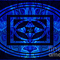 Life Force Within Abstract Healing Artwork by Omaste Witkowski