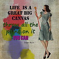 Life Is A Canvas by Terry Fleckney