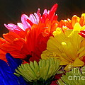 Life Is Short Buy The Flowers by Linda Galok
