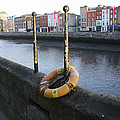 Life Saver -  Swiffey River - Dublin Ireland by Bill Cannon