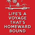 Life Voyage Red by Splendid Notion Series