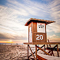 Lifeguard Tower 20 Newport Beach Ca Picture by Paul Velgos