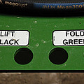 Lift Black Fold Green by Christi Kraft
