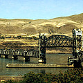 Lift Bridge Over The Columbia River by Michelle Calkins