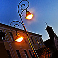 Light And Moon In B.bystrica by Alex Art and Photo