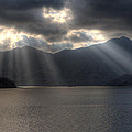 Light And Mountains by Ethan Daniels