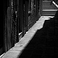 Light And Shadow - Venice by Lisa Parrish