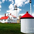 Light At Whitefish Point by Nick Zelinsky
