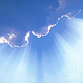 Light Beams From Cloud by David N Davis