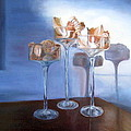 Light Glass And Shells by LaVonne Hand