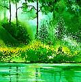Light N Greens R by Anil Nene