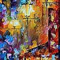 Light Of Night by Leonid Afremov