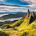 Light On The Storr by Michael Blanchette