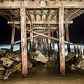 Light Painted Pier by Joe Belanger