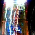 Light Play On Tower Bridge by C Lythgo