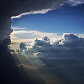 Light Shafts From Thunderstorm II by Greg Reed
