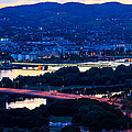 Light Time On Donau by Fred West
