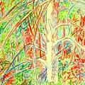 Lightening Struck Tree Again by Kendall Kessler