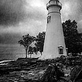 Lighthouse At Marblehead by Dale Kincaid