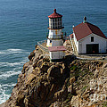 Lighthouse At Point Reyes by Bob Christopher