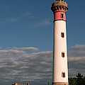 Lighthouse At Ouistreham by Jean-Pierre Ducondi