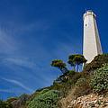 Lighthouse At Saint-jean-cap-ferrat France French Riviera by Georgia Mizuleva