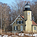 Lighthouse At White River by Linda Kerkau