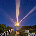 Lighthouse Beams By The Southern Cross by Alan Dyer