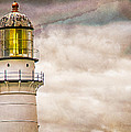 Lighthouse Cape Elizabeth Maine by Bob Orsillo
