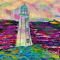 Lighthouse Digital Color by Barbara Griffin