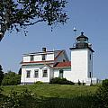 Lighthouse Fort Point by Christiane Schulze Art And Photography