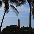 Lighthouse From Afar by Catie Canetti