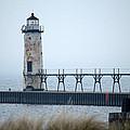 Lighthouse In Haze by Linda Kerkau