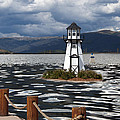 Lighthouse In Lake Dillon by Juli Scalzi