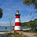 Lighthouse In Mount Dora by Denise Mazzocco