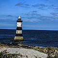Lighthouse Isle Of Anglessy Wales by Larry Pegram