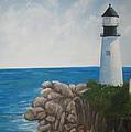 Lighthouse by Kathy Raee Hansen