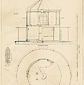 Lighthouse Lantern Drawing by Jerry McElroy - Public Domain Image