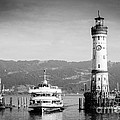 Lighthouse Lindau Lake Constance Germany by Matthias Hauser