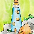 Lighthouse by Max Kederabek Age Nine